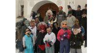 Chalandamarz cun mascras a Ftan / Chalandamarz mit Masken in Ftan