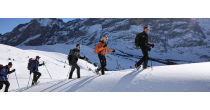 Eiger North snowshoeing tour