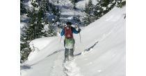 Geführte Schneeschuhwanderung Ftan