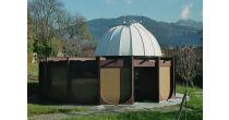 Sous les étoiles, à l'observatoire