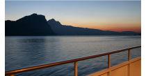 Sonnenuntergangs-Fahrt