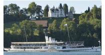 Zmittags-Dampfer mit dem Dampfschiff Unterwalden