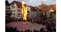 The traditional Fribourg's Carnival