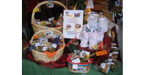 Market day organized by the farming women of Gimmelwald