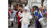 Carnival parade in Andermatt