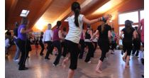 Zumba fitness and toning