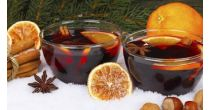 Welcome mulled wine and hot tea