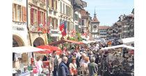 Maimarkt in Murten