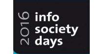 InfoSocietyDays 2016