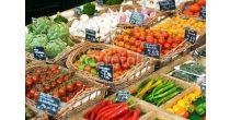 Wöchentlicher Samstagmorgen Gemüsemarkt am Graben