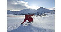 Winterbetrieb im Skigebiet Minschuns