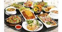 Asiatisches Buffet