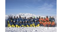 Demoshow der Ski- und Snowboardschule Lumnezia