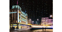 Christmas lighting at the Bahnhofstrasse & Night Shopping