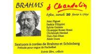 Brahms to Chandolin