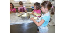 Baking with children - bakery Biner