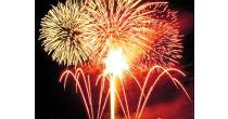 Silvesterapéro mit Feuerwerk