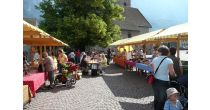 Wochenmarkt in Flums