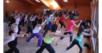 Mixed aerobic, zumba, abs