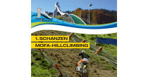 1. Schanzen Mofa-Hillclimbing