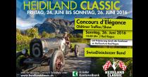 Heidiland Classic - Oldtimer Treffen / Show