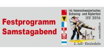 Öffentliches Festprogramm am Schwingfest