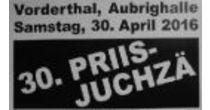 30. Priisjuchzä, Vorderthal