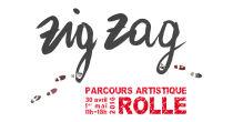 Zig Zag - Parcours Artistique des Peintres et sculpteurs Rollois