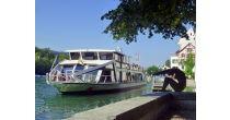 Brunch-Buffet auf dem Rheinschiff