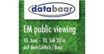 databaar EM public viewing