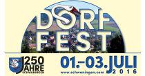 Dorffest «1250 Jahre Schwaningen»