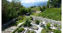 Visite du Jardin d'inspiration médiévale