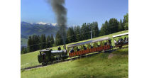 Steam train: Goldau-Rigi Kulm