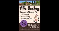 10 jährige Jubiläum Villa Donkey BnB