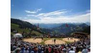Rigi: lotta svizzera e giochi alpestri