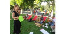 Jugendanimation Zug: Gedichte pflücken