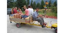 «Bucherli» carriage ride & feeding the miniature goats