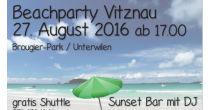 Beach Party in Vitznau