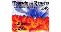 TOURNÉ DES REFUGES 2016