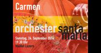 Konzert Orchester Santa Maria: Carmen-Suite
