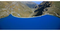 Turn of the lake of Moiry with the geologist Thierry Basset