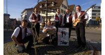 Konzert der Red Garter Dixieland Band