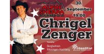 Chrigel Zenger at Alpin Sherpa Lounge