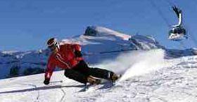 Skiën in de lente in Engelberg