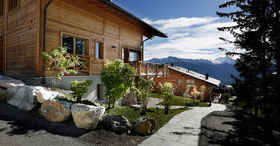 Firmen-Event in den Crans Luxury Lodges