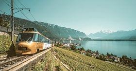 Die kleine Weltreise, LuV - Interlaken - Montreux