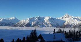 Vivir el invierno en una pintoresca aldea