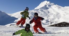 Skiing fun, includes ski pass
