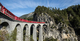 Expérience chemin de fer Albula
