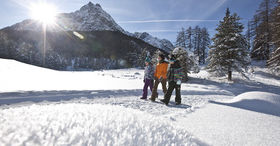 Via Engiadina - Winter hiking in Lower Engadine